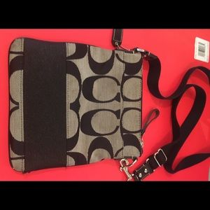 Coach crossover handbag